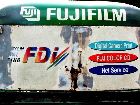old Fuji Van